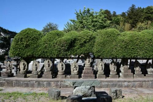 Chorakuji Temple Courtyard
