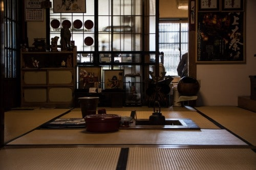 Fujimien Tea Shop Tatami Room
