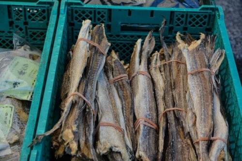 Dried Fish at Murakami's Market