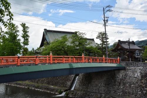 Imamiya Bridge in Hida Furukawa