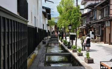 Hida furukawa's old town