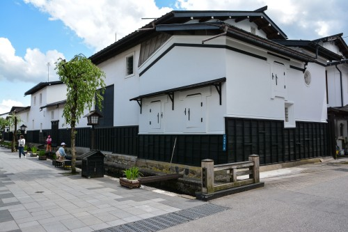 The old town in Hida Furukawa, Gifu prefecture