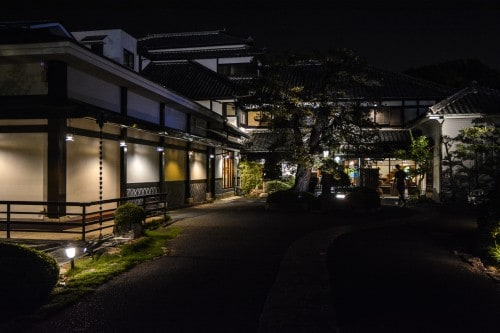 Karatsu Onsen Ryokan Wataya, Karatsu, Saga prefecture, Kyushu.