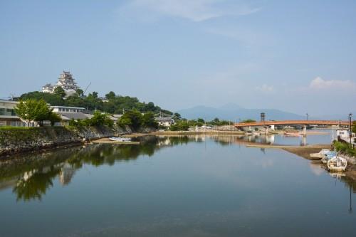 Matsuura river and Karatsu castle