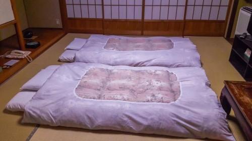 The Iwamotoro's room in Enoshima island, Kanagawa prefecture, Japan.