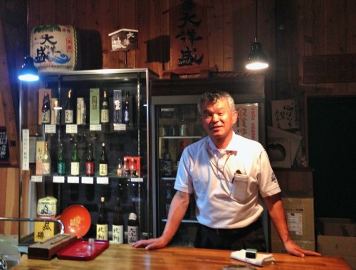 Taiyo Sake brewery, Murakami city, Niigata prefecture, Japan.