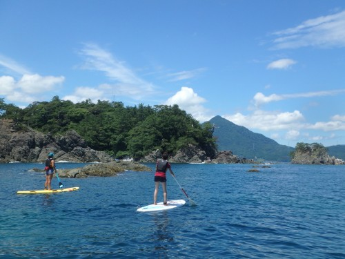 Toriihama Beach: Paddle Boarding
