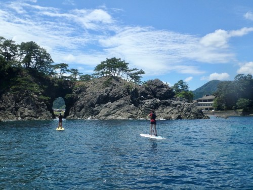 Meikyodo Cave Nature Paddle Boarding Two People, Fukui prefecture