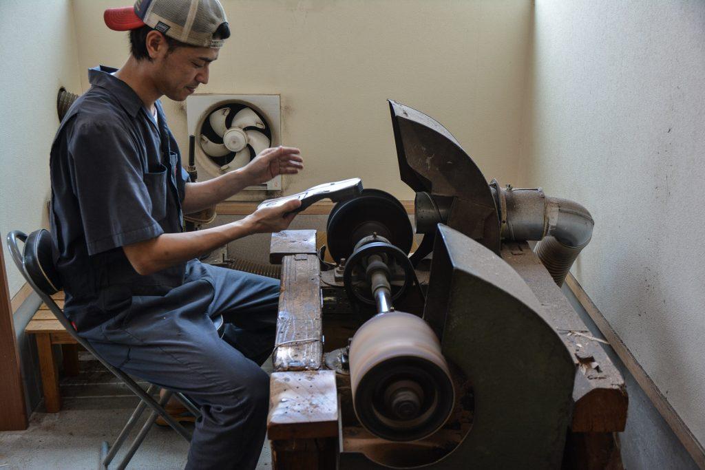 Hita ist eine der drei größten Regionen, in denen die traditionelle Methode zur Herstellung von Geta beibehalten wurde.