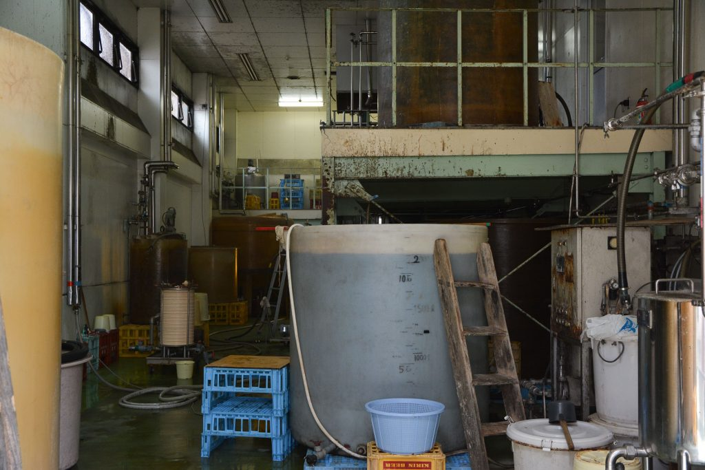 Soy Sauce Factory at Harajirozaemon in Hita city, Oita prefecture, Japan.