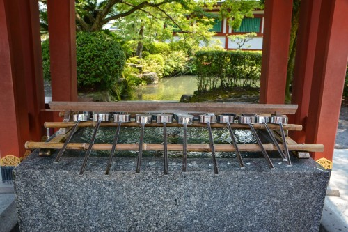 Yutoku Inari Shrine, One of the Three Largest Shrines Dedicated to Inari in Japan.