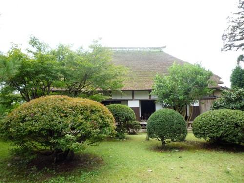 Old samurai residene inside Murakami's Kinen Koen park.