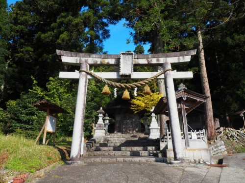 The Michi-jinja Shrine in Himi city, Toyama prefecture, Japan.