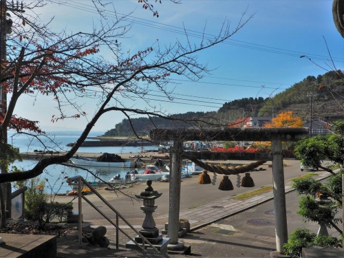 The little port in Himi city, Toyama prefecture, Japan.