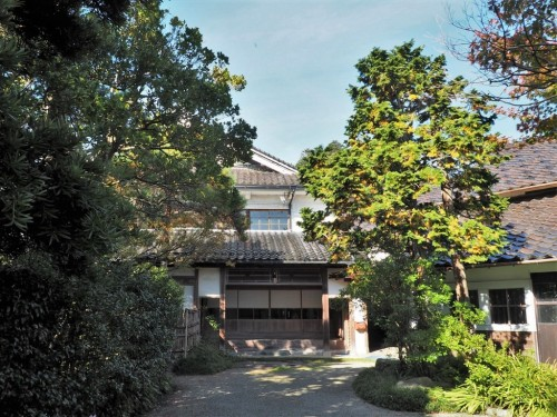 The Hamamoto Residence in Himi city, Toyama prefecture, Japan.