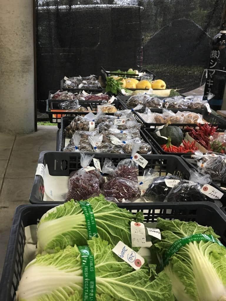 Local market at Yamakoshi