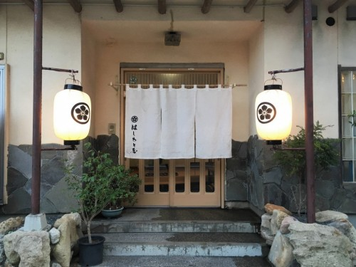 Staying in a Japanese traditional ryokan in Himi city, Toyama, Japan.