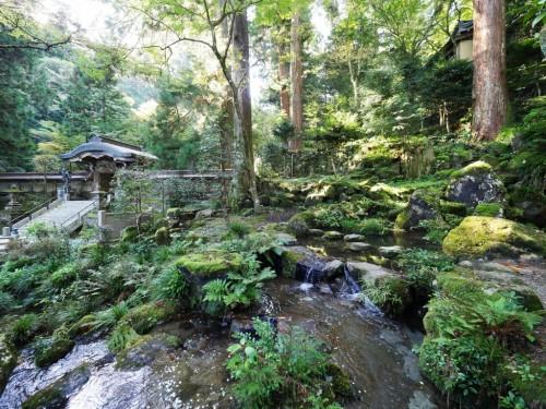 Daiyuzan Saijo-ji, the Sacred Mountain near Hakone, Kanagawa, Japan.