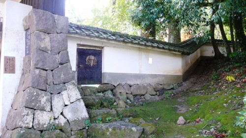 Kitsuki castle, the smallest castle in Oita prefecture, Japan.