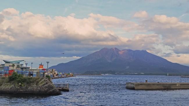 Sakurajima island, Kyushu, Japan.