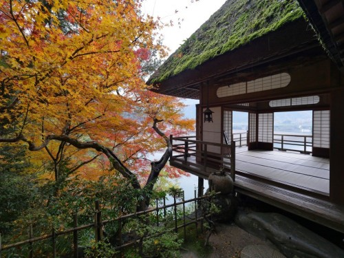 Villa Garyu Sanso is a must see villa if you like Japanese architecture in Shikoku.