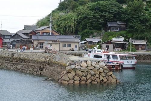 Cat Island, Aoshima island in Ehime prefecture , Shikoku, Japan.
