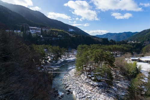 Tsukechi-Kyo Valley in Nakatsugawa City, Gifu prefecture, Japan.