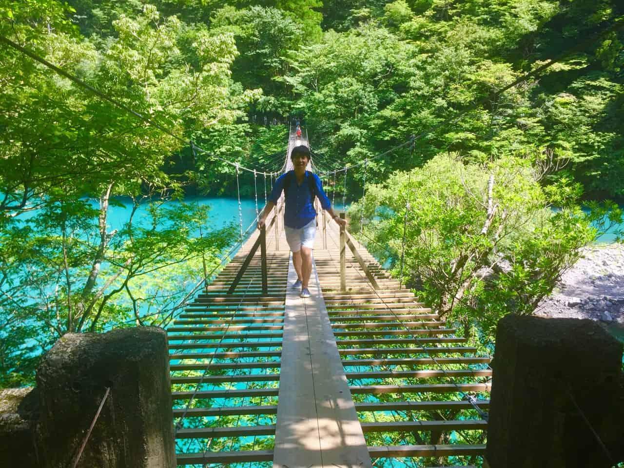 Sumatakyo gorge in Shizuoka, Japan.