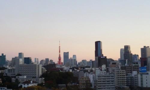 Tokyo Tower view from Shinagawa