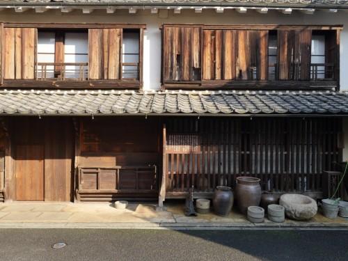 Yokaichi old town in Uchiko town, Ehime, Japan.