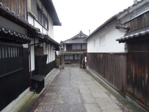 the Historical Quarter of Unomachi in Seiyo, Shikoku