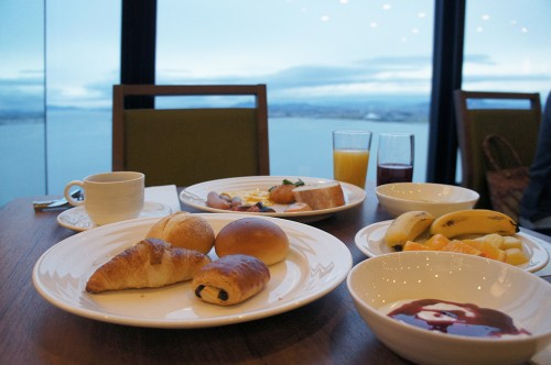 Lake Biwa Otsu Prince Hotel close to Kyoto, in Shiga prefecture ,Japan.