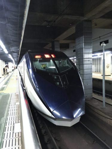 The stylish Keisei Skyliner