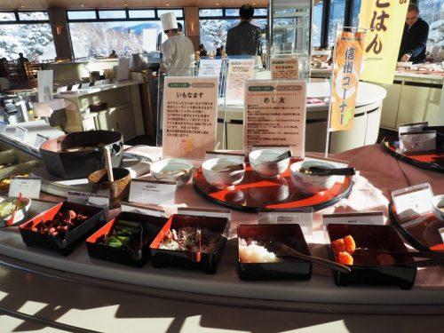 Das japanische Buffet