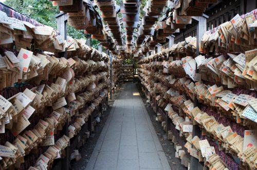 Hikawa-jinja Shrine in Kawagoe, close to Tokyo.