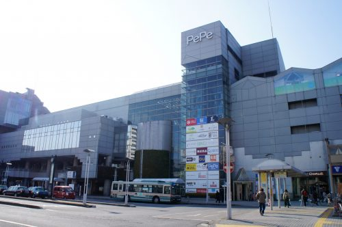 The Hon-Kawagoe station, about ten minutes walk from the historic district.