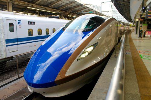 JR Hokuriku shinkansen from Tokyo