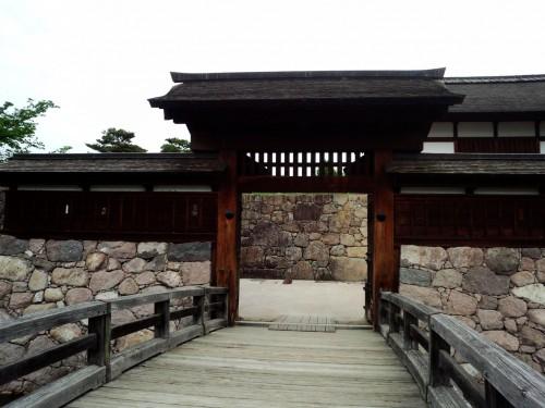 Historic Matsuhiro Nagano City Japan Samurai House War Tunnels Shrine