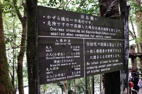Kazurabashi price list