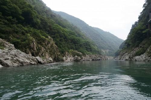 Oboke boat tour