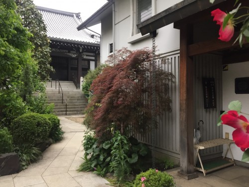 Kagurazaka Neighborhood Guide Walking Tokyo Japan Denkyu-ji Buddhist Temple