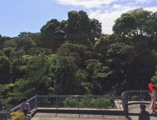 Kagurazaka Neighborhood Guide Hotel Chinzanso Gardens Shrine Pagoda Walking Greenery Tokyo Japan