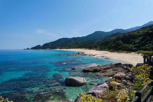 Nagata Beach Yakushima Island Kyushu Japan