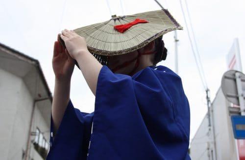 Sado's local festival (matsuri) in Niigata Prefecture, Japan.