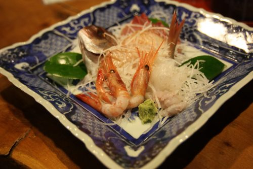 Hananoki Inn Ryokan Sado Island Niigata Prefecture Local Cuisine Traditional Seafood Food