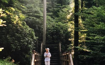 Trekking experience in the mountain side at Toon city, Ehime Prefecture.