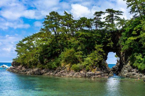 Meikyodo Cave in Takahama town, Fukui Prefecture, Japan.