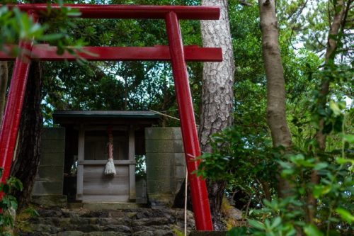 A small shrine near Takahama town, Fukui Prefecture, Japan.