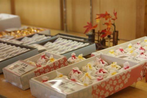 Chidoriya Honten sweets shop in Iizuka, Fukuoka, Kyushu, Japan.