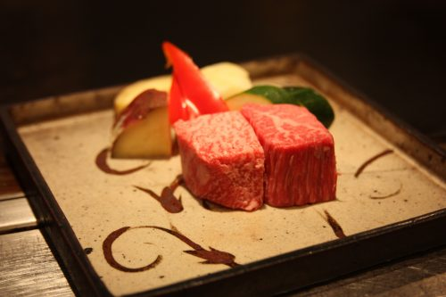 Taste the high quality wagyu beef 'Saga Beef' in Saga prefecture, Kyushu, Japan.